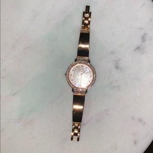 Badgley Mischka Accessories - Badgley Mischka rose gold watch